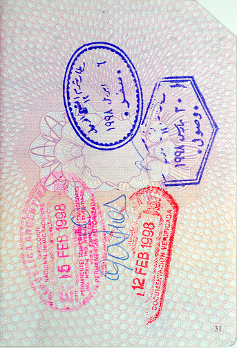 Regency Style「Passport Stamps」:スマホ壁紙(5)