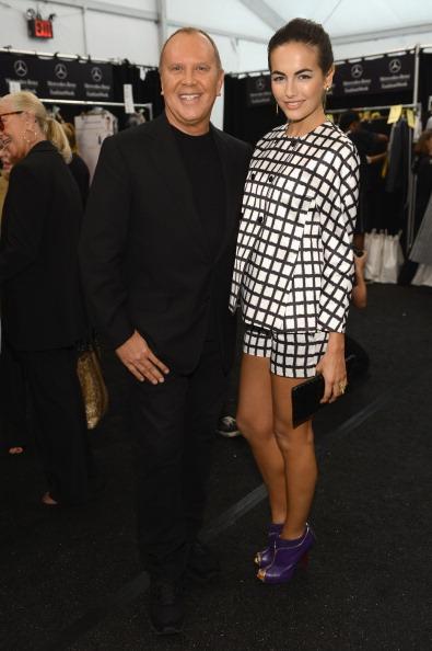 Camilla Belle「Michael Kors - Backstage - Spring 2013 Mercedes-Benz Fashion Week」:写真・画像(10)[壁紙.com]