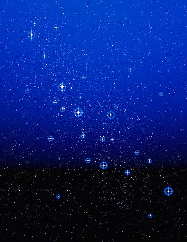 Atmosphere「Stars and Blue Atmosphere」:スマホ壁紙(7)