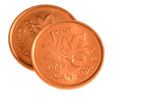 Economic fortune「Two Canadian Pennies」:スマホ壁紙(13)