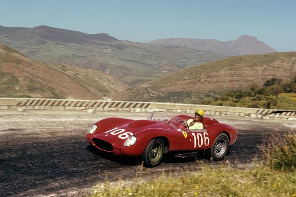Ferrari「Luigi Musso, Targa Florio」:写真・画像(8)[壁紙.com]