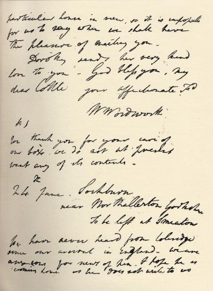Writing「William Wordsworth autograph letter」:写真・画像(17)[壁紙.com]