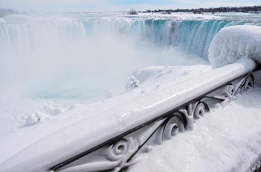 American Falls「Niagara Falls winter 2015」:スマホ壁紙(12)