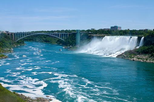 American Falls「Niagara Falls looking into Buffalo New York」:スマホ壁紙(2)