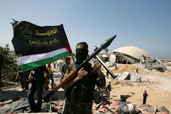 Hamas「Members Of Islamic Jihad Gather In Former Israeli Settlement」:写真・画像(12)[壁紙.com]