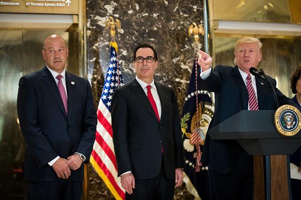 アメリカ合州国「President Trump Speaks On Infrastructure Meeting Held At Trump Tower」:写真・画像(10)[壁紙.com]