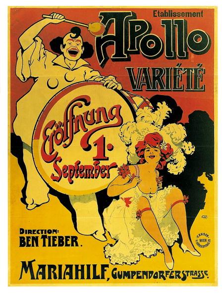 Vaudeville「Poster on the opening of」:写真・画像(6)[壁紙.com]