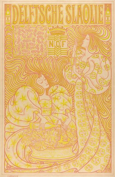 Chromolithograph「Poster For Loten Van De Nationale Tentoonstelling Van Vrouwenarbeid」:写真・画像(5)[壁紙.com]