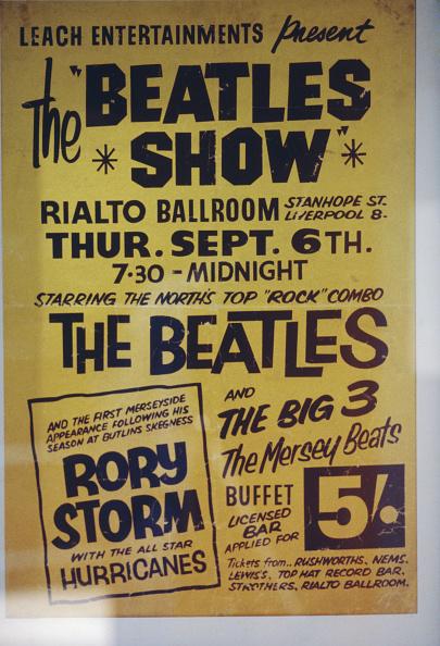 ポップコンサート「Beatles Rialto Poster」:写真・画像(5)[壁紙.com]
