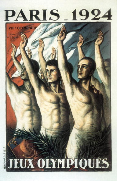 Summer Olympic Games「Poster for Olympic Games in Paris in 1924 by Jean Droit」:写真・画像(17)[壁紙.com]