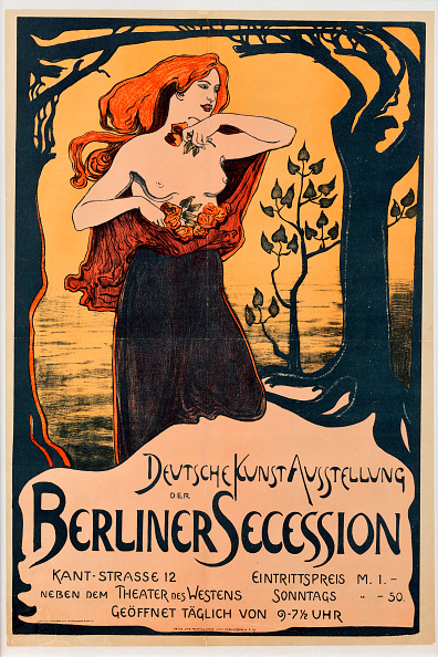 Art Nouveau「Poster For The Berlin Secession Exhibition」:写真・画像(7)[壁紙.com]