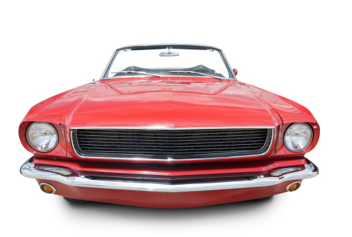 Old-fashioned「Mustang Convertible 1966」:スマホ壁紙(13)