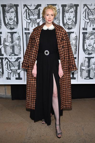 Gwendoline Christie「Miu Miu : Photocall - Paris Fashion Week Womenswear Fall/Winter 2018/2019」:写真・画像(17)[壁紙.com]