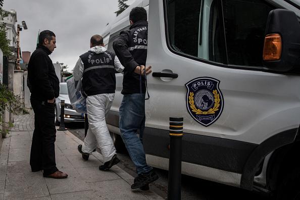 Police Force「Investigators Search Saudi Consular Buildings」:写真・画像(11)[壁紙.com]