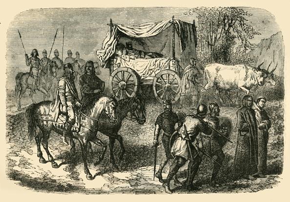 Ox Cart「Roi Faineant Royal Sluggard Of The Merovingian Race」:写真・画像(1)[壁紙.com]