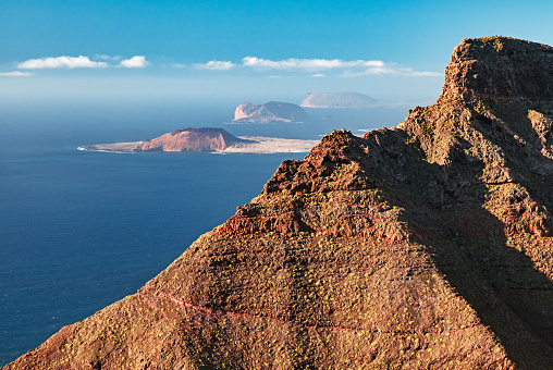 La Graciosa - Canary Islands「La Graciosa island view from Lanzarote, Canary islands」:スマホ壁紙(10)