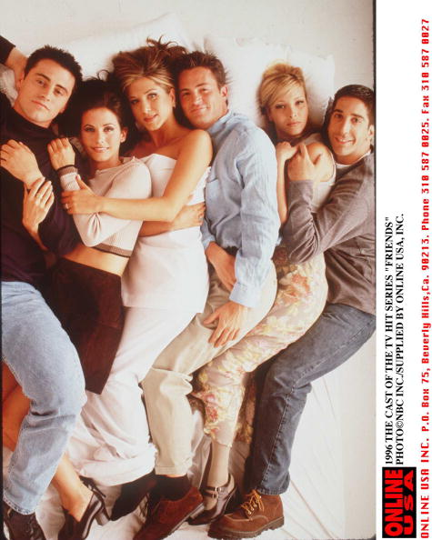 "Television Show「1996 THE CAST OF THE TV HIT SERIES ""FRIENDS""」:写真・画像(5)[壁紙.com]"