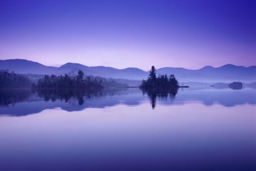 Adirondack Mountains「LAKE, ADIRONDACKS, NEW YORK」:スマホ壁紙(1)