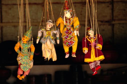 Marionette「PUPPETS IN BURMA, MYANMAR」:スマホ壁紙(8)