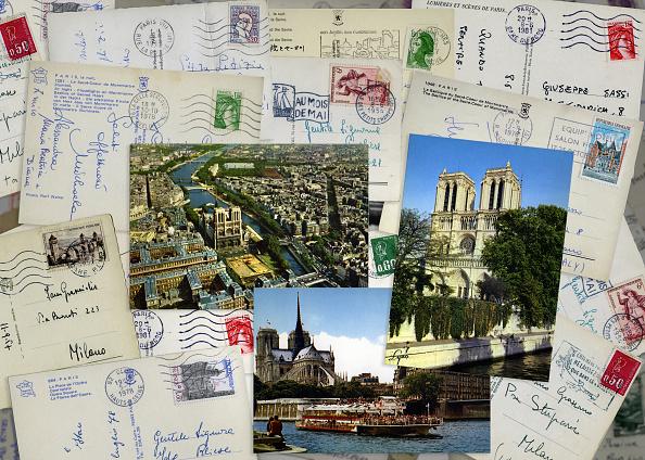 Postcard「Tourism in Paris」:写真・画像(2)[壁紙.com]