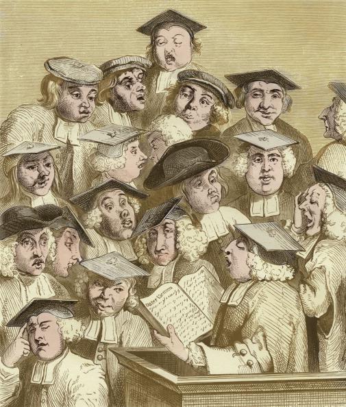 William Hogarth「Alma Mater, engraving by Hogarth.」:写真・画像(17)[壁紙.com]