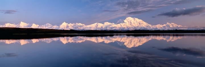 Alaska Range「MOUNT MCKINLEY & ALASKAN MOUNTAIN RANGE」:スマホ壁紙(13)
