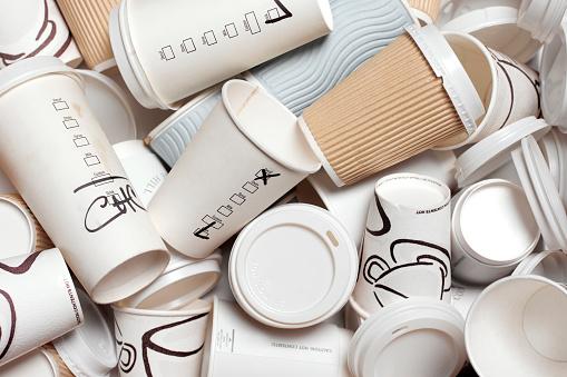 Industry「UNRECYCLABLE TAKEAWAY COFFEE CUPS」:スマホ壁紙(14)