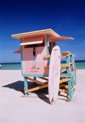 Miami「USA FLORIDA MIAMI BEACH LIFEGUARD STATION」:スマホ壁紙(1)