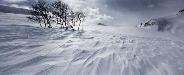 Snowdrift「SUNSET SNOWDRIFTS IN THE MOUNTAINS」:スマホ壁紙(16)