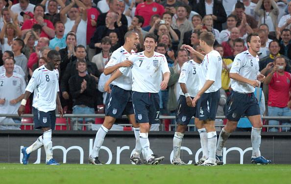 Sports Activity「EUROPEAN  CHAMPIONSHIPS QUALIFYING ENGLAND V RUSSIA AT WEMBLEY 2007」:写真・画像(11)[壁紙.com]