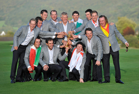 Europe「The 38th Ryder Cup at the Celtic Manor Resort 2010」:写真・画像(9)[壁紙.com]