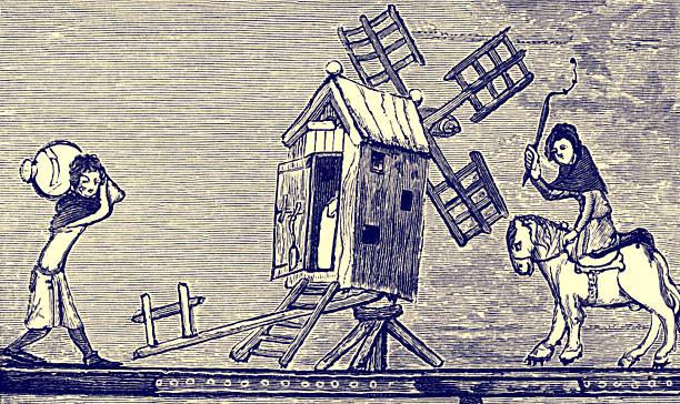 Windmill in England, c. 1338 - 1344:ニュース(壁紙.com)