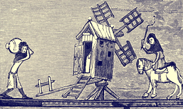 Circa 14th Century「Windmill in England, c. 1338 - 1344」:写真・画像(15)[壁紙.com]