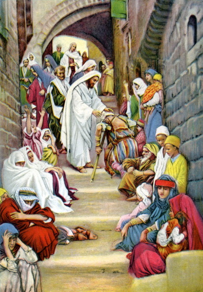 Illness「Jesus healing the sick」:写真・画像(4)[壁紙.com]
