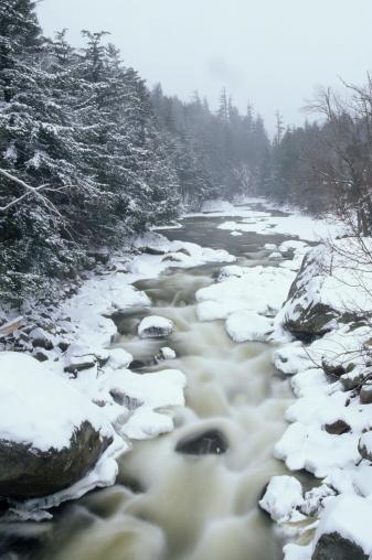 Adirondack Mountains「WINTER SCENE, ADIRONDACKS」:スマホ壁紙(16)