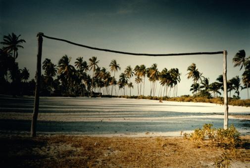 Goal Post「SOCCER FIELD AND PALMS, ZANZIBAR, TANZANIA」:スマホ壁紙(15)