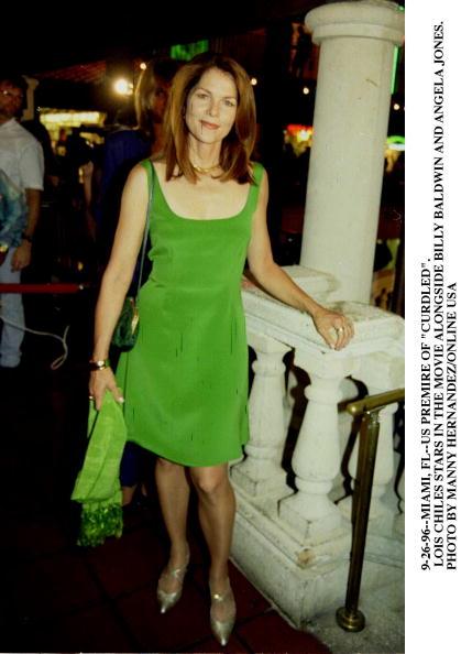 ロイス チャイルズ「MIAMI, FL--LOIS CHILES AT THE US PREMERE OF 'CURDLED' IN MIAMI. THE MOVIE STARS BILLY BALDWIN AND AN」:写真・画像(1)[壁紙.com]