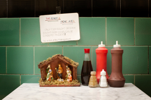 Soy Sauce「CAFE SAUCES WITH NATIVITY MODEL」:スマホ壁紙(4)