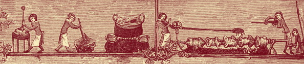 Roast Dinner「Bakers and cooks, 1338 - 1344.」:写真・画像(14)[壁紙.com]