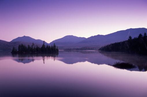 Adirondack Mountains「LAKE, ADIRONDACKS, NEW YORK」:スマホ壁紙(4)