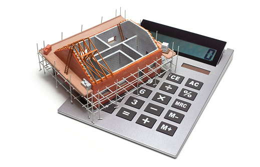Zero「HOME HOUSE UNDER CONSTRUCTION WITH CALCULATOR」:スマホ壁紙(13)