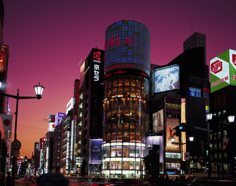 Ginza「THE GINZA, TOKYO, JAPAN」:スマホ壁紙(11)