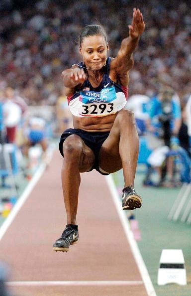 Marion Jones「The 2004 Summer Olympic Games in Athens Greece」:写真・画像(19)[壁紙.com]