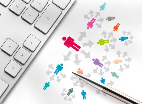 Human Resources「-SOCIAL MEDIA-BLOGGING-NETWORK-」:スマホ壁紙(9)