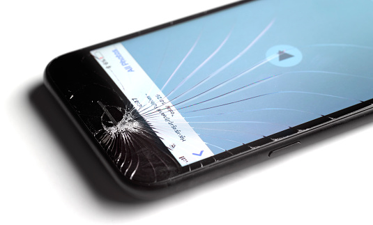 Touch Screen「CRACKED MOBILE SMART PHONE SCREEN」:スマホ壁紙(0)