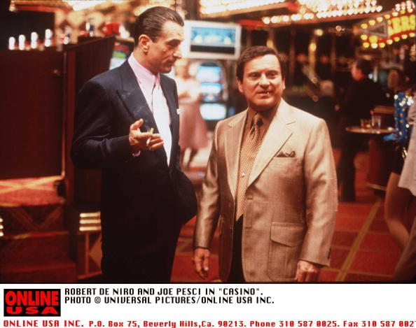 "Casino「ROBERT DE NIRO AND JOE PESCI IN ""CASINO"".」:写真・画像(5)[壁紙.com]"