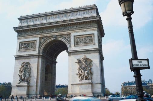Arc de Triomphe - Paris「23898579」:スマホ壁紙(1)