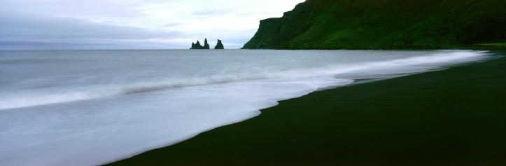 Basalt「BASALT ROCK BEACH, VIK, ICELAND」:スマホ壁紙(16)