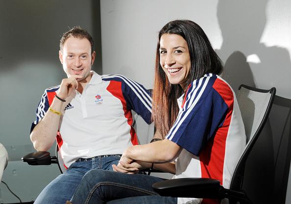 2012 Summer Olympics - London「KRISTAN BROMLEY & SHELLY RUDMAN PORTRAIT」:写真・画像(1)[壁紙.com]