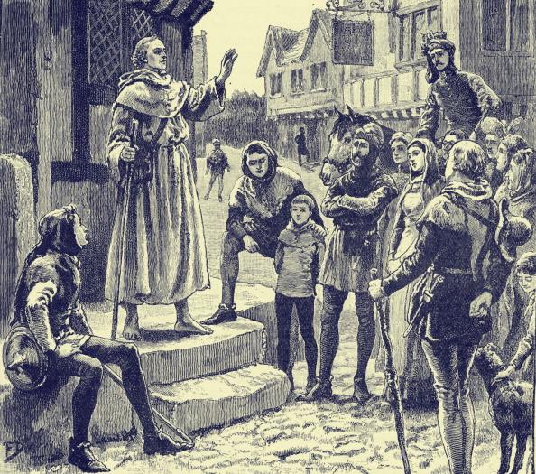 Preacher「John Wycliffe 's 'poor priests' - preaching」:写真・画像(19)[壁紙.com]